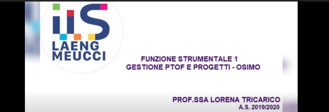 VIDEO IIS Laeng Meucci Osimo Castelfidardo – A.S. 2019 – 2020