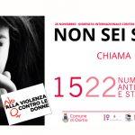 NON SEI SOLA. CHIAMA 1522