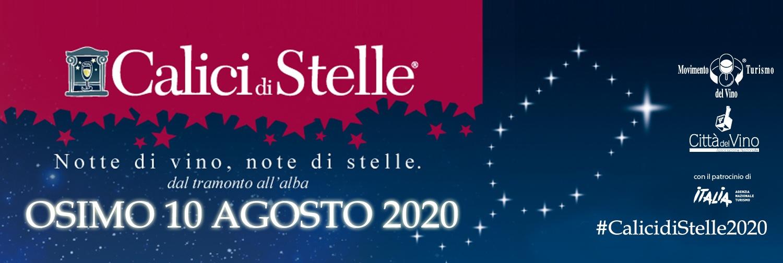 CALICI DI STELLE – Osimo 10 Agosto 2020