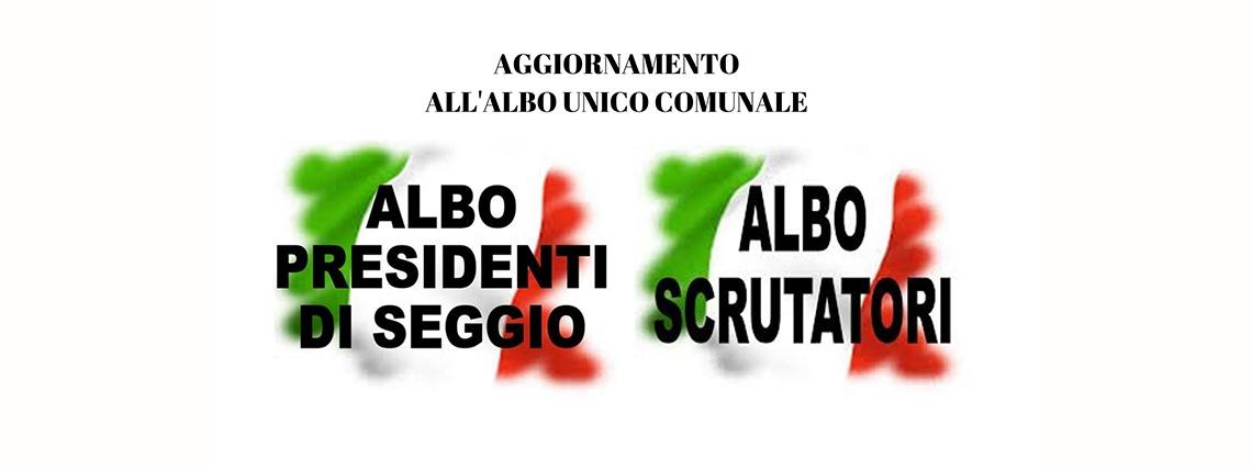 You are currently viewing AGGIORNAMENTO ALBO SCRUTATORI E PRESIDENTI DI SEGGIO – scade scrut. 30 nov. – pres. 31 ott.